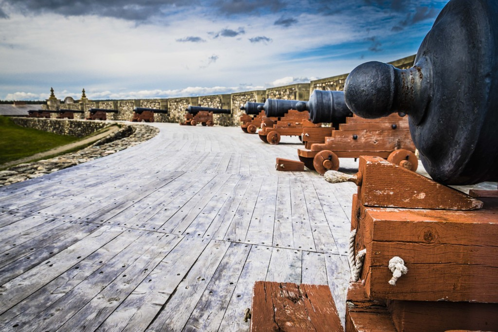 The Battery, Fortress of Louisbourg, Louisbourg, NS