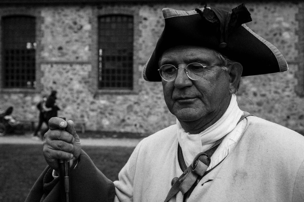 Guard, Fortress of Louisbourg, Louisbourg, NS