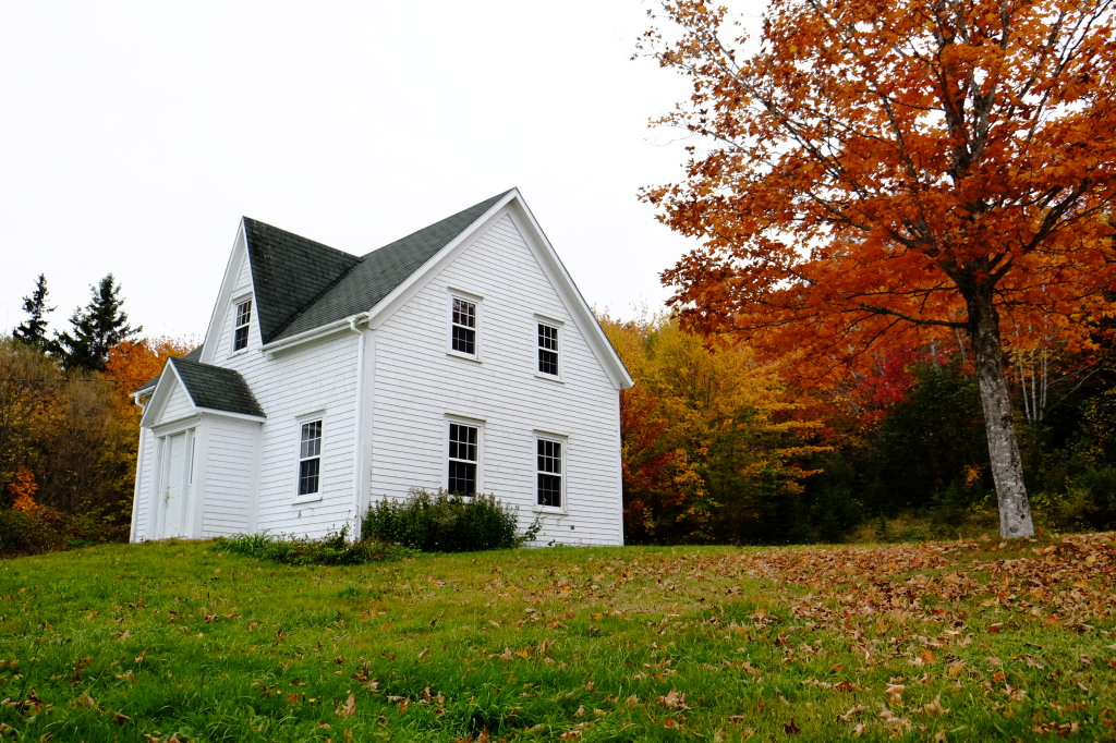 Cottage and Red Tree, TCH, NS