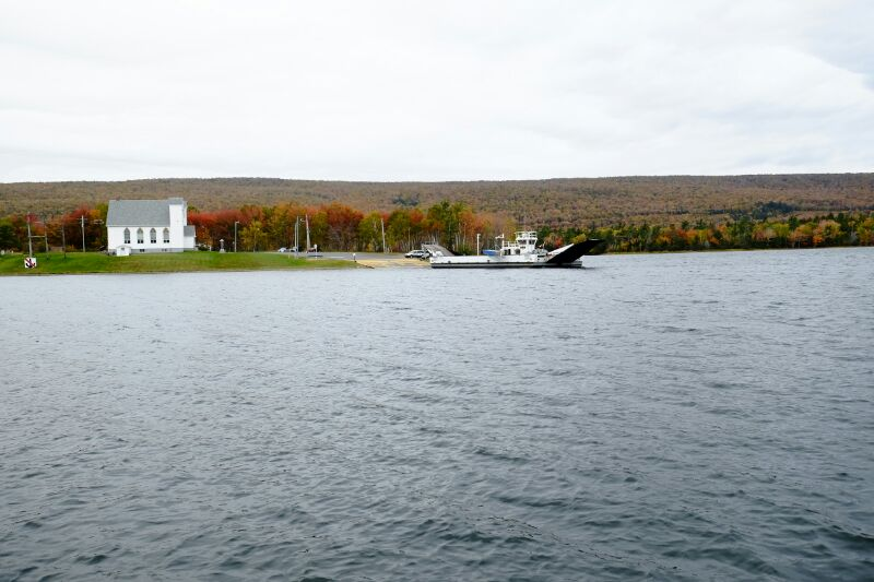 Ferry, Little Narrows, NS
