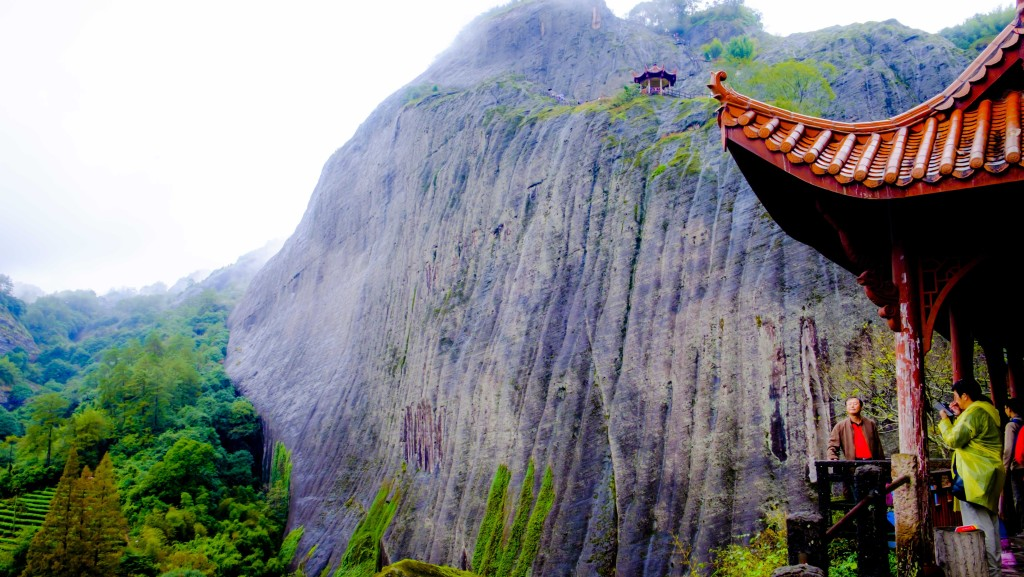 The sheer cliff face of Tianyoufeng