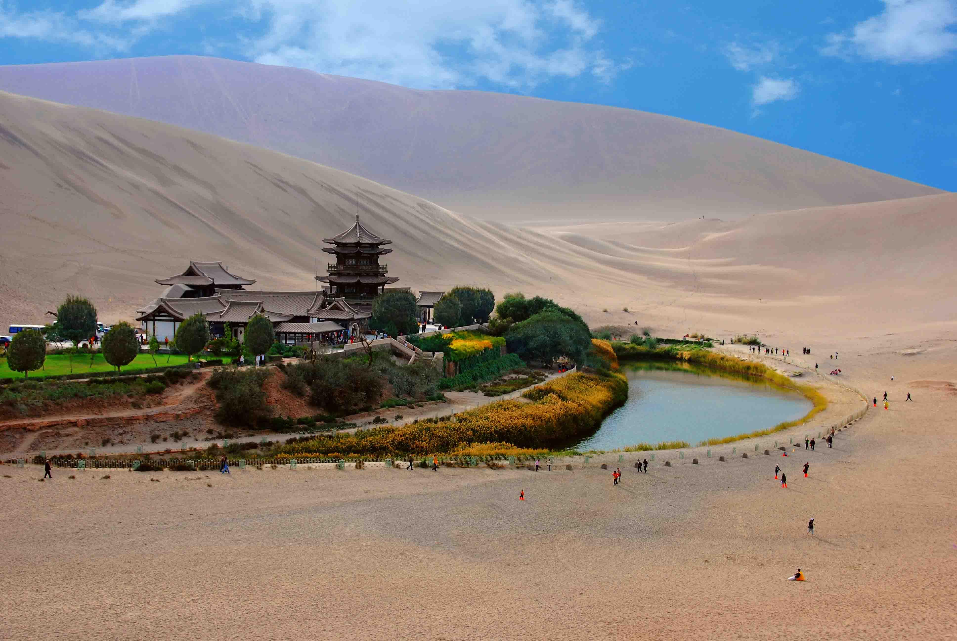 deserts of northwest china
